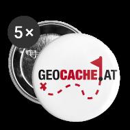 Buttons & Anstecker ~ Buttons klein 25 mm ~ geocache.at Buttons  25mm