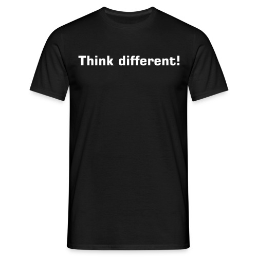 Think different! - Männer T-Shirt