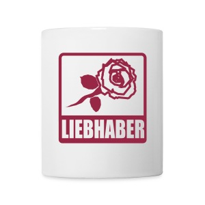 Tasse Rosenliebhaber - Tasse
