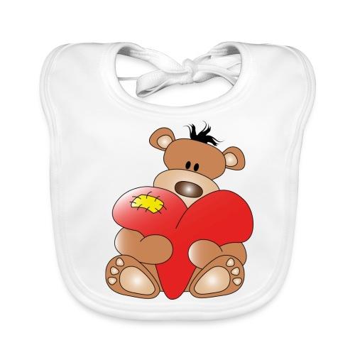 Teddykram - Ekologisk babyhaklapp