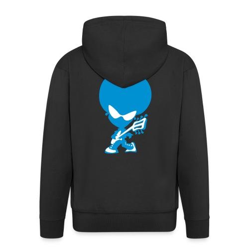 Blue Electro Hoody - Men's Premium Hooded Jacket