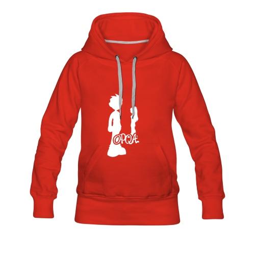 Sudadera Chica (varios colores) - Sudadera con capucha premium para mujer