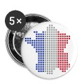 White France flag pixel map Accessories
