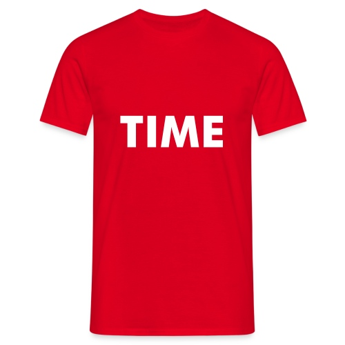 Herren T Shirt TIME  - Männer T-Shirt