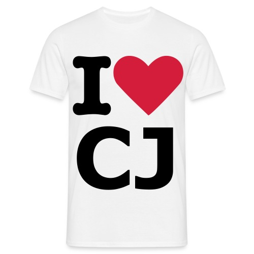 I Love Captain Jack - Men's T-Shirt