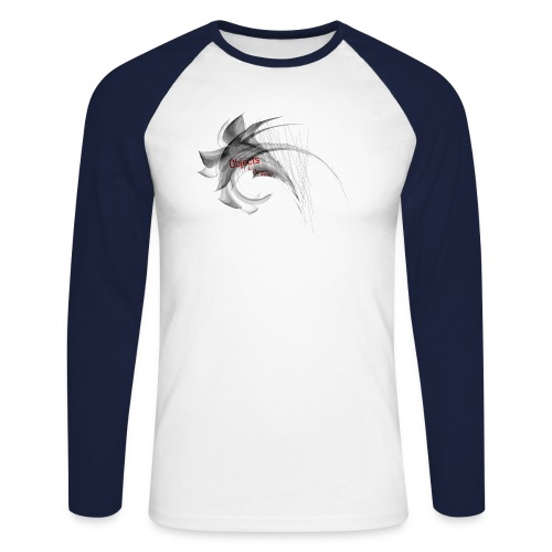 Objects_2 - Männer Baseballshirt langarm