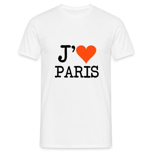 T-shirt j'aime Paris - T-shirt Homme