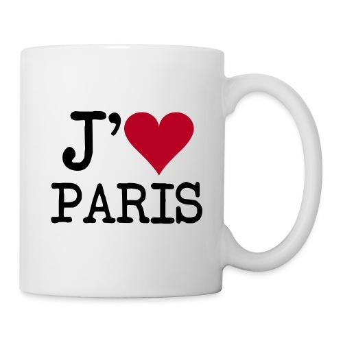 Tasse Mug j'aime Paris - Mug blanc