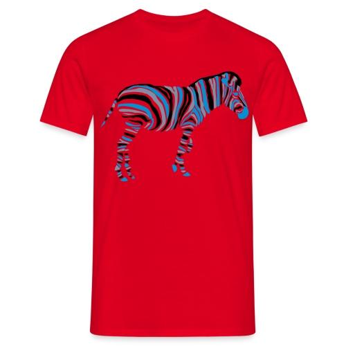Zebra Men's Comfort Tee - Men's T-Shirt