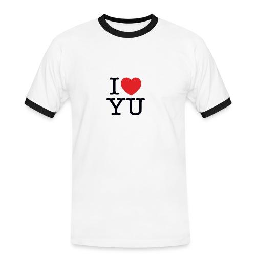 I Love You - Men's Ringer Shirt