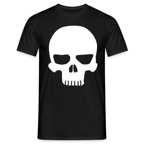 Russian Roulette Skull - Comfort T (2-puoleinen) - Miesten t-paita