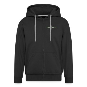 hoodie men / glow in the dark - Männer Premium Kapuzenjacke