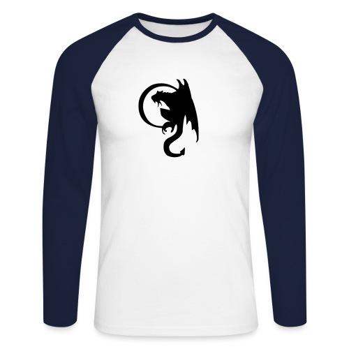 dragon1 - Männer Baseballshirt langarm