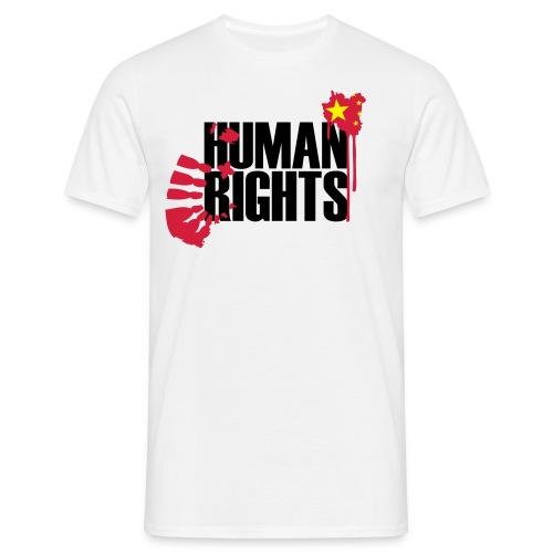human rights 3c - Männer T-Shirt