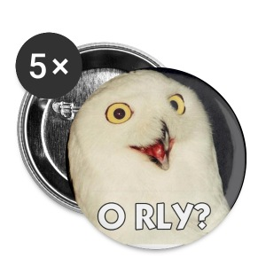 O RLY Badges - Buttons small 25 mm