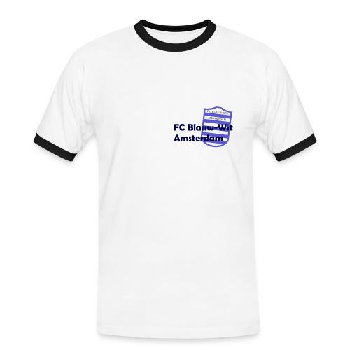 T-Shirt FC Blauw-Wit Amsterdam - Mannen contrastshirt