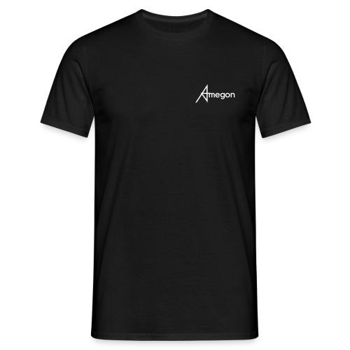 Männer T-Shirt - Vorne: Amegon Logo klein;