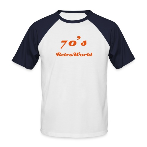 Retro the World - Männer Baseball-T-Shirt