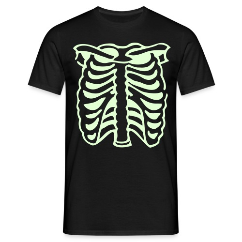 Mens Black Ribs - Men's T-Shirt
