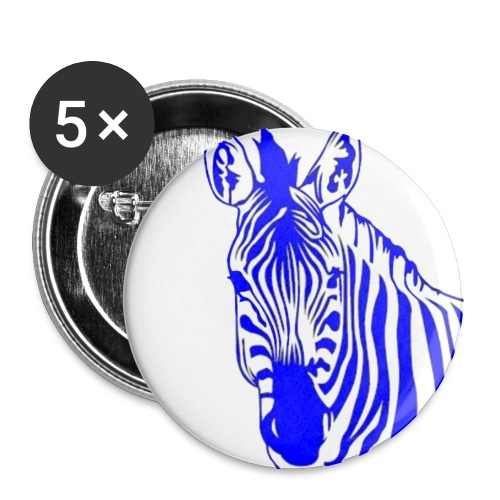 Butto Zebra - Buttons klein 25 mm (5-pack)