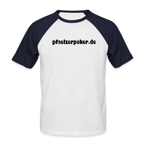 Shirt Men Pfaelzerpoker.de - Männer Baseball-T-Shirt