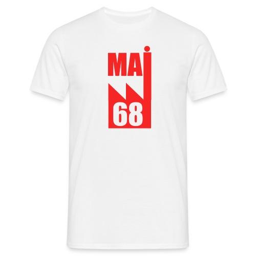 Mai 68 usine rouge- A - T-shirt Homme
