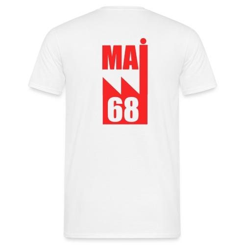 Mai 68 usine rouge- D - T-shirt Homme