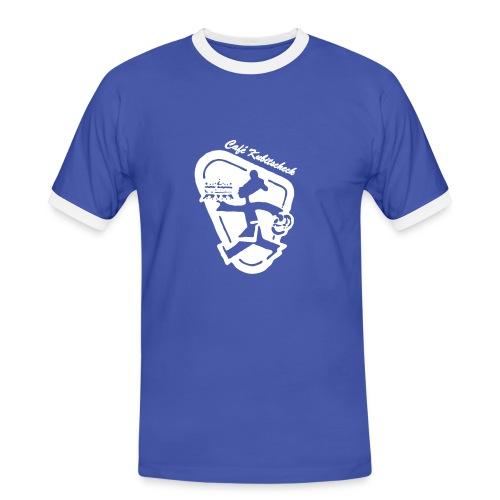 Fuck the Backmischung 1 - Männer Kontrast-T-Shirt
