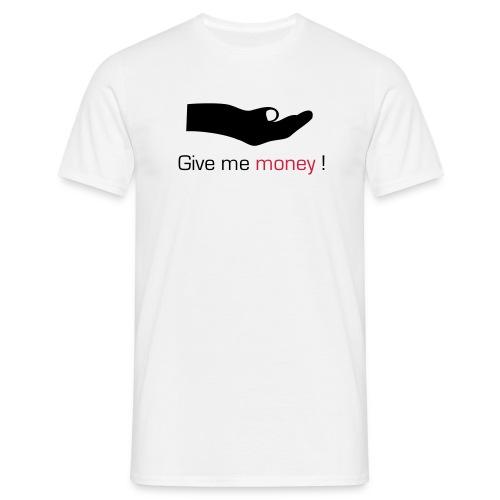 Money - T-skjorte for menn