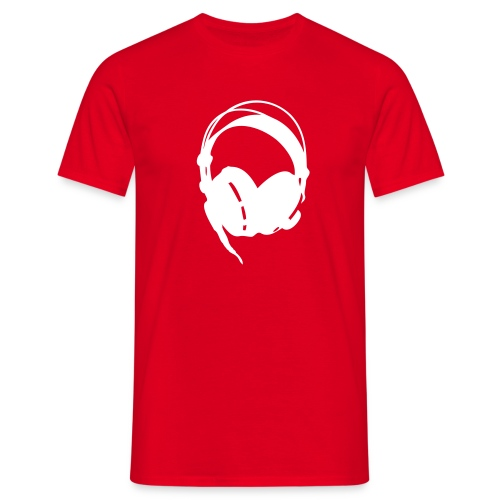 Music is Power - Headphones - Men's T-Shirt