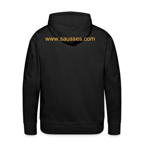 sweat capuche black - Sweat-shirt à capuche Premium pour hommes