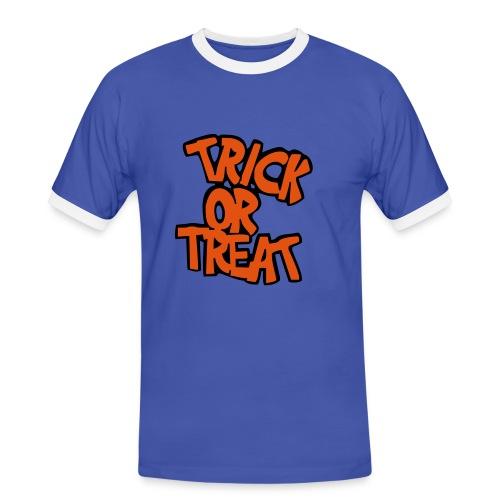 Trick or Treat - Männer Kontrast-T-Shirt