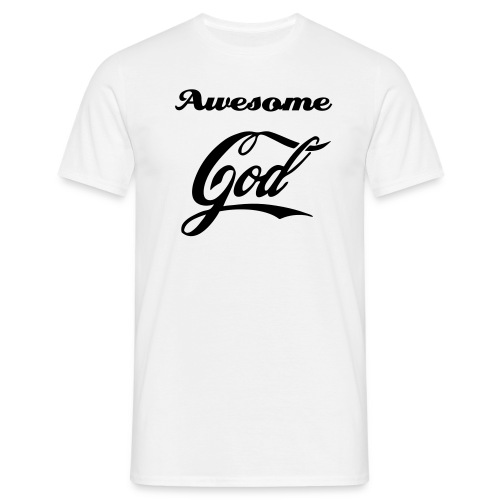Awesome God - Mannen T-shirt