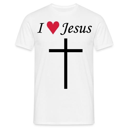I Love Jesus - Mannen T-shirt