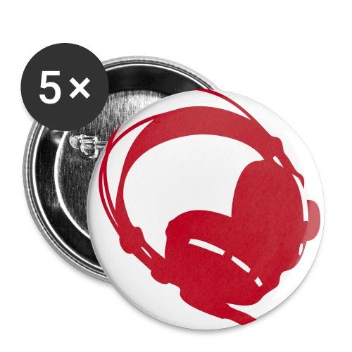 Stora knappar 56 mm (5-pack)