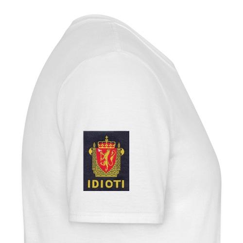 Idioti - T-skjorte for menn