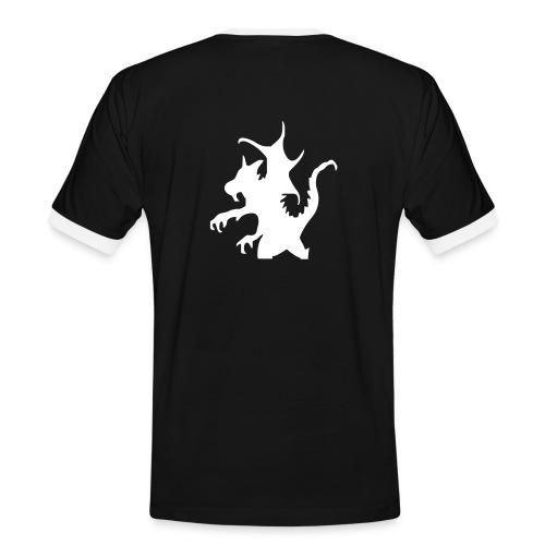 dragon2 - Männer Kontrast-T-Shirt