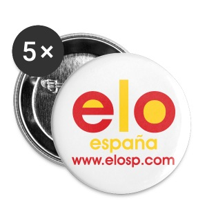 PEQUE PIN ELOSP - Chapa pequeña 25 mm