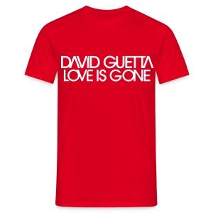David Guetta Love Gone Homme - T-shirt Homme