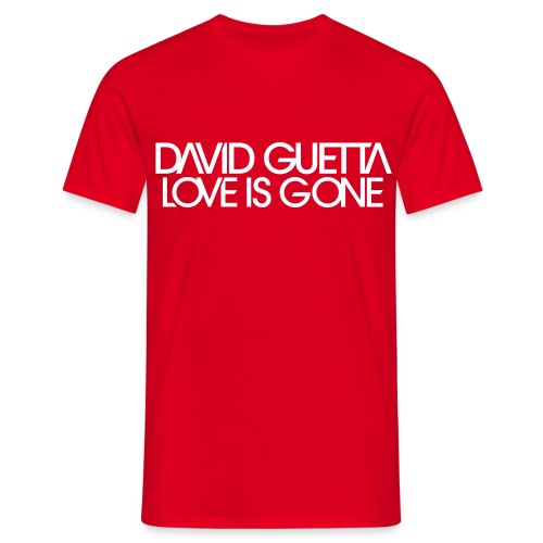 David Guetta Love Gone Homme - T-shirt Homme