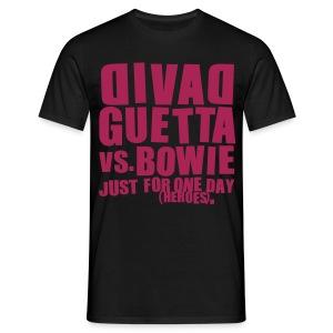 David Guetta vs. Bowie Homme - T-shirt Homme