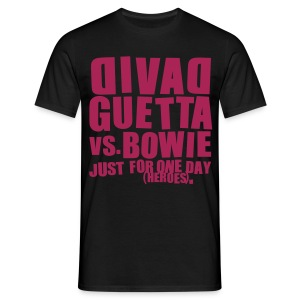 David Guetta vs. Bowie Homme - T-shirt Homme