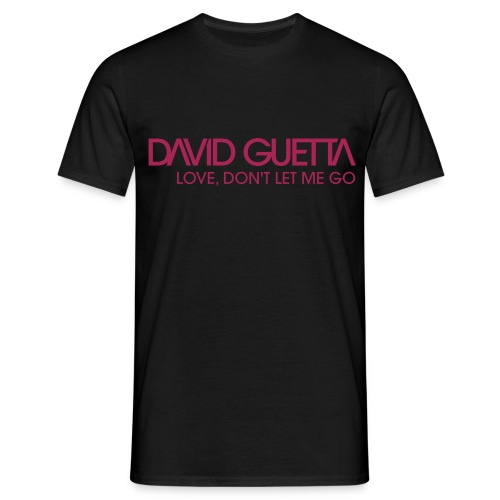 David Guetta Don't Let Homme - T-shirt Homme