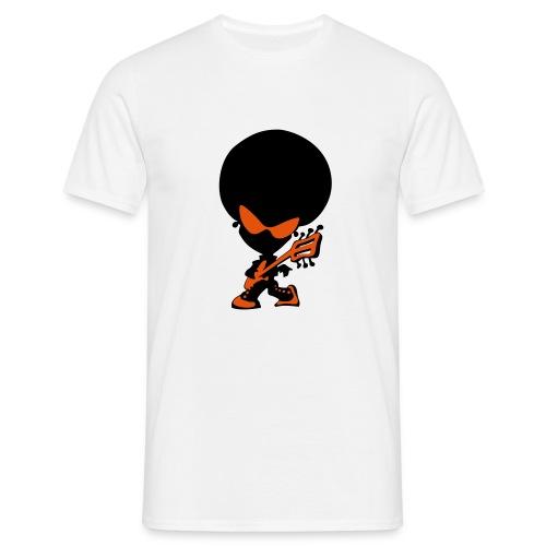 Guitar Alien - Men's T-Shirt