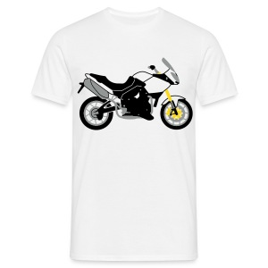 Tiger 1050 (White) - Men's T-Shirt