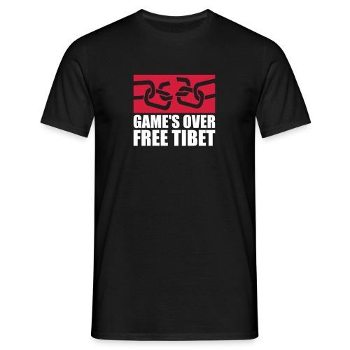 GAMES OVER 2c - Männer T-Shirt