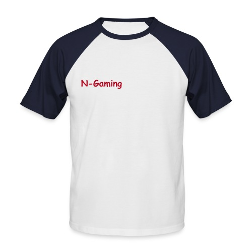 N-Gaming | T-Shirt | blackstorm - Männer Baseball-T-Shirt