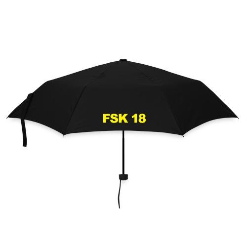 FSK 18 Schirm - Regenschirm (klein)