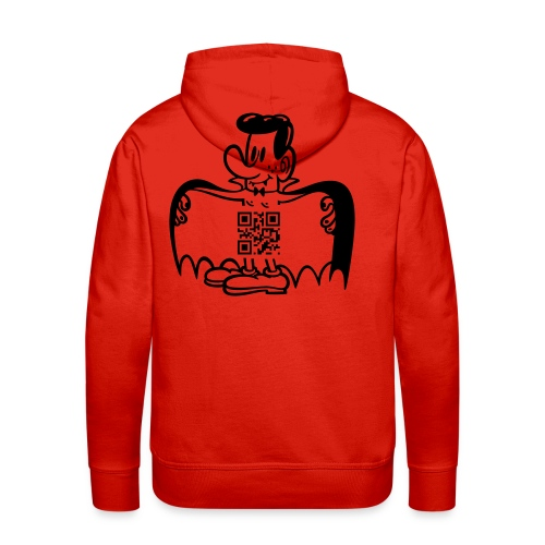 EXHIBICIONIST VAMPIRE SWEATER  - Men's Premium Hoodie