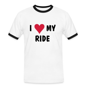 I Heart My Ride - Men's Ringer Shirt